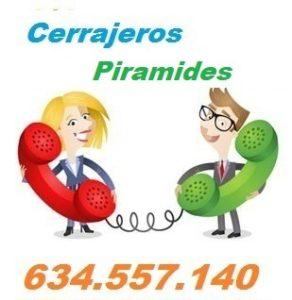 Telefono de la empresa cerrajeros Piramides